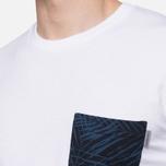 Carhartt WIP Lambert White/Palm Print/Dark Blue photo- 5