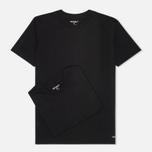 Комплект мужских футболок Carhartt WIP Standart Crew Neck Black (pack x2) фото- 0
