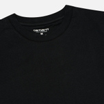Комплект мужских футболок Carhartt WIP Standart Crew Neck Black (pack x2) фото- 1