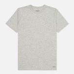 Комплект мужских футболок Carhartt WIP Standart Crew Neck Grey Heather (pack x2) фото- 2