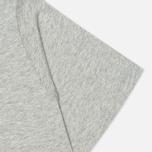 Комплект мужских футболок Carhartt WIP Standart Crew Neck Grey Heather (pack x2) фото- 4
