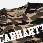 Мужская футболка Carhartt WIP College Allover Camo Isle/White фото- 1