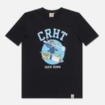 Мужская футболка Carhartt WIP Duck Down Black/Blue фото- 0