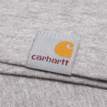 Мужская футболка Carhartt WIP Duck Down Grey Heather/Green фото- 3