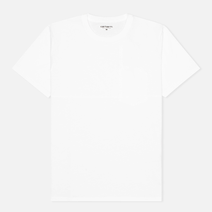 Мужская футболка Carhartt WIP Dunkan Pocket White