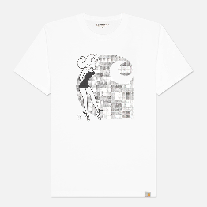Carhartt WIP Girl Men's T-shirt White/Black