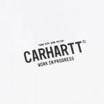 Мужская футболка Carhartt WIP Grim Reaper White/Black фото- 3