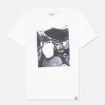 Мужская футболка Carhartt WIP Interior #7 White фото- 0