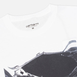 Мужская футболка Carhartt WIP Interior #7 White фото- 1