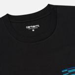 Carhartt WIP Lester Pocket Men's T-shirt Black/African Print photo- 1
