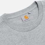 Мужская футболка Carhartt WIP Lester Pocket Grey Heather/Marlin Leopard фото- 1