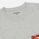 Мужская футболка Carhartt WIP Lester Pocket Grey Heather/Tropic Print фото- 1