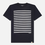 Мужская футболка Carhartt WIP Sailing Jet/White фото- 0