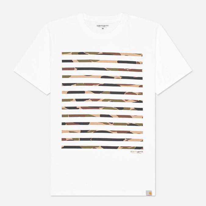 Мужская футболка Carhartt WIP Sailing Print White/Camo Isle