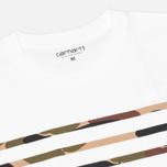 Мужская футболка Carhartt WIP Sailing Print White/Camo Isle фото- 1