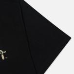 Мужская футболка Carhartt WIP Stain Script Black/Camo Stain Leaf фото- 3