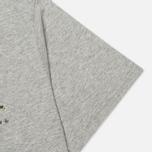 Мужская футболка Carhartt WIP Stain Script Grey Heather/Camo Stain Leaf фото- 3