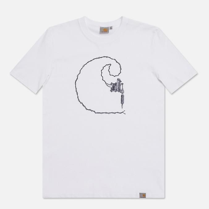 Мужская футболка Carhartt WIP Tattoo White/Jet