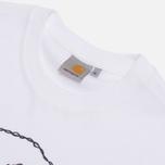 Мужская футболка Carhartt WIP Tattoo White/Jet фото- 1