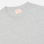 Мужская футболка Champion Reverse Weave Crew Neck Patch Logo Grey фото- 1
