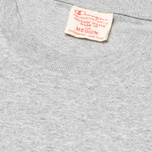 Мужская футболка Champion Reverse Weave Crew Neck Patch Logo Grey фото- 2