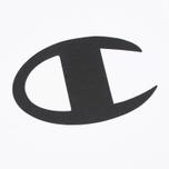 Champion Reverse Weave Crew Neck Print Logo Men's T-shirt White photo- 2