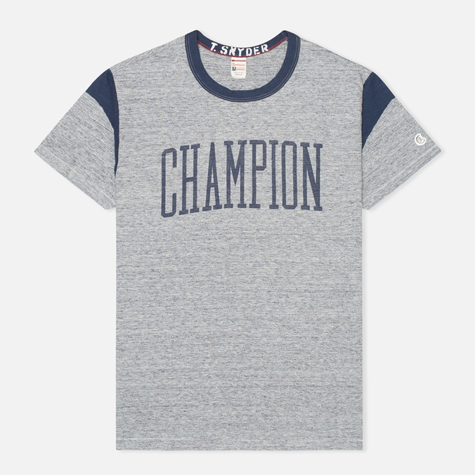 Мужская футболка Champion x Todd Snyder Armhole Grey Heather