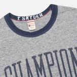 Мужская футболка Champion x Todd Snyder Armhole Grey Heather фото- 1