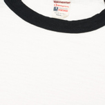 Champion x Todd Snyder Baseball Tee Men's T-shirt Vintage White/Black photo- 2