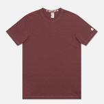 Мужская футболка Champion x Todd Snyder Crewneck Crimson фото- 0