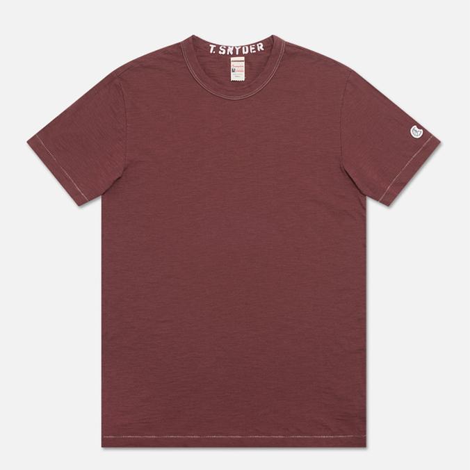 Мужская футболка Champion x Todd Snyder Crewneck Crimson