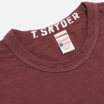 Мужская футболка Champion x Todd Snyder Crewneck Crimson фото- 1