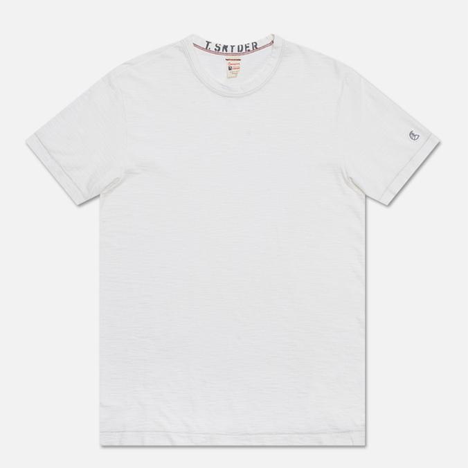 Мужская футболка Champion x Todd Snyder Crewneck Vintage White