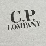 Детская футболка C.P. Company U16 Jersey Hood Print Grey фото- 3