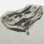Детская футболка C.P. Company U16 Jersey Hood Print Grey фото- 1