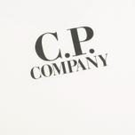 Детская футболка C.P. Company U16 Jersey Hood Print White фото- 3