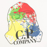 Детская футболка C.P. Company U16 Paint Drop Print White фото- 2