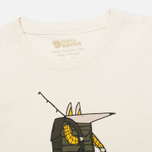 Fjallraven Trekking Fox Children's T-shirt Chalk White photo- 1