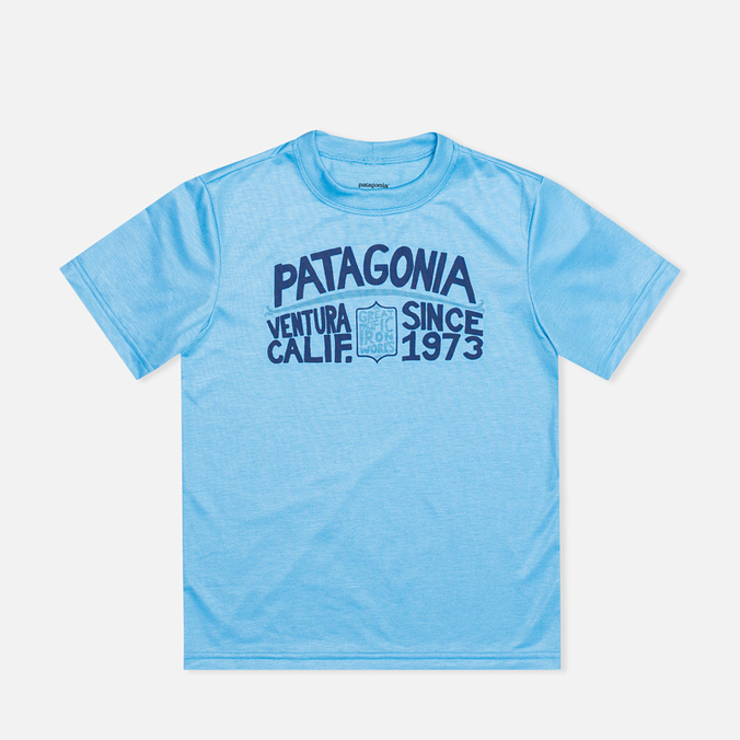 Patagonia Polarized Graphic Children's T-shirt Skipper Blue