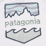 Детская футболка Patagonia Polarized Graphic Tailored Grey/Polar Blue фото- 3