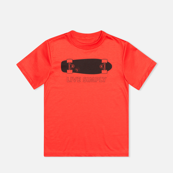Patagonia Polarized Graphic Children's T-shirt Turkish Red