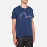 Evisu Genes Teagull T-Shirt Navy photo- 0