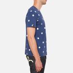 Evisu Genes Tesudot Bubble Print T-Shirt Navy photo- 1