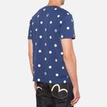 Evisu Genes Tesudot Bubble Print T-Shirt Navy photo- 2