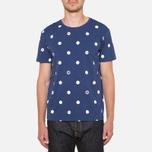 Evisu Genes Tesudot Bubble Print T-Shirt Navy photo- 4