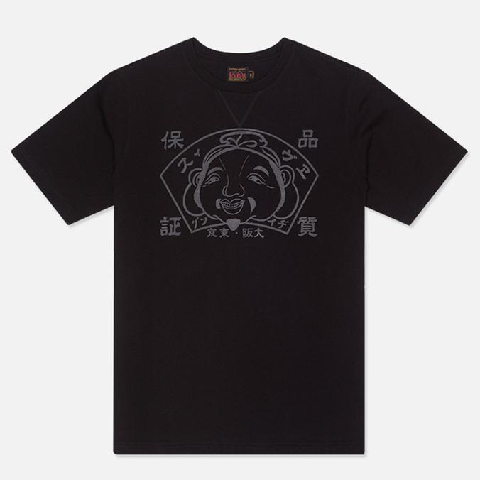 Мужская футболка Evisu Godhead Black