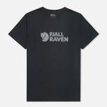 Мужская футболка Fjallraven Logo Dark Navy фото- 0