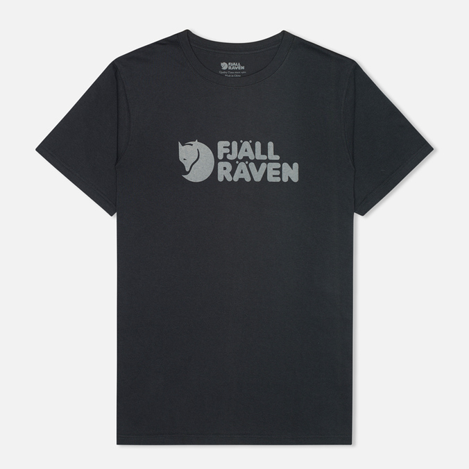 Мужская футболка Fjallraven Logo Dark Navy