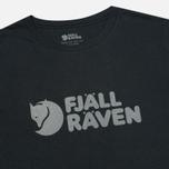 Мужская футболка Fjallraven Logo Dark Navy фото- 1