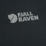 Мужская футболка Fjallraven Logo Dark Navy фото- 2